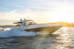 52 Sea ray Sundancer Sports Cruiser Hire with Pacific Boating Club Membership